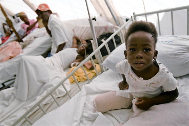 Child In Hospital Room