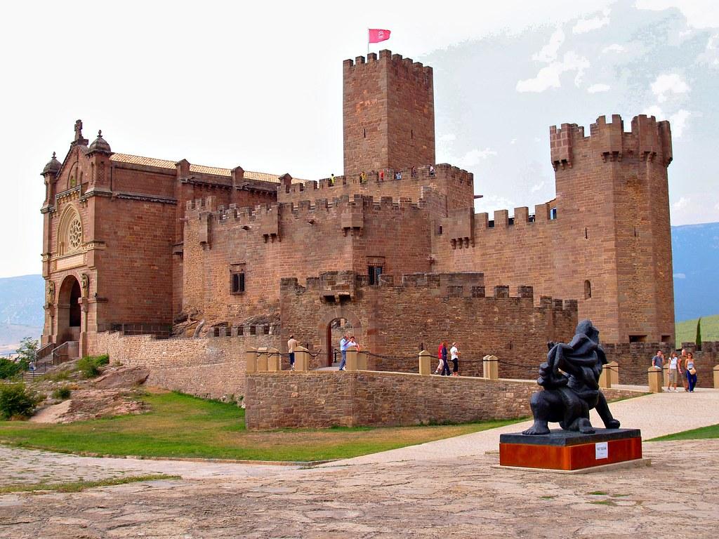 Castillo de san javier navarra situaci n el castillo for Muebles casi gratis san javier