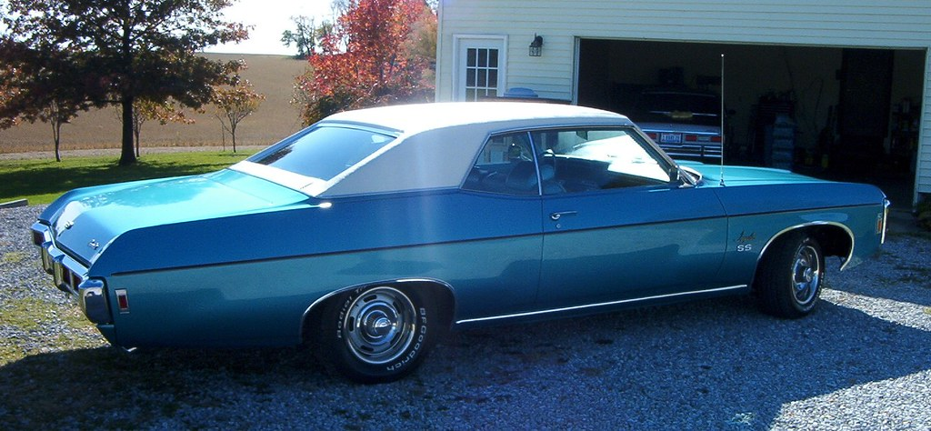 my 1969 Impala Sport C...