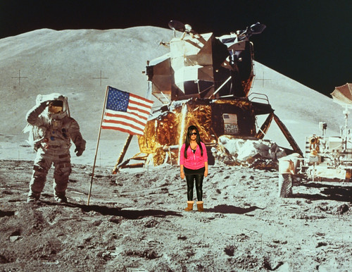 Snookie on the moon | by briansacawa