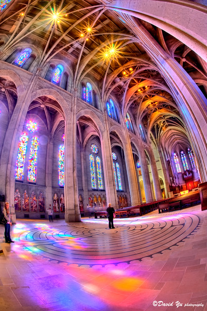 Colorful Grace Cathedral Church Interior This Could Be