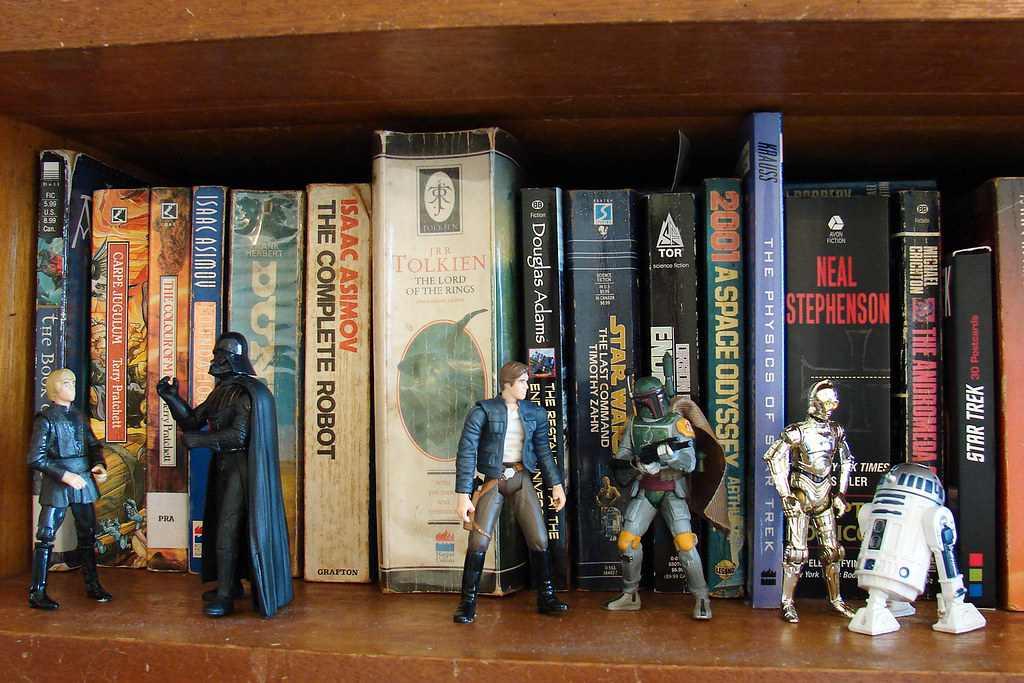 Toy Project 348 365 The Nerd Bookshelf