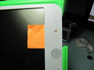 Low-tech anti-surveillance tool for the OLPC XO-1 | by Luke Faraone
