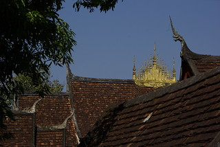 Temple Roofs, Laos | by The Hungry Cyclist