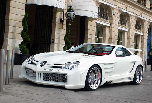 Mercedes Benz Fab Design Slr Mclaren Desire In Paris Flickr