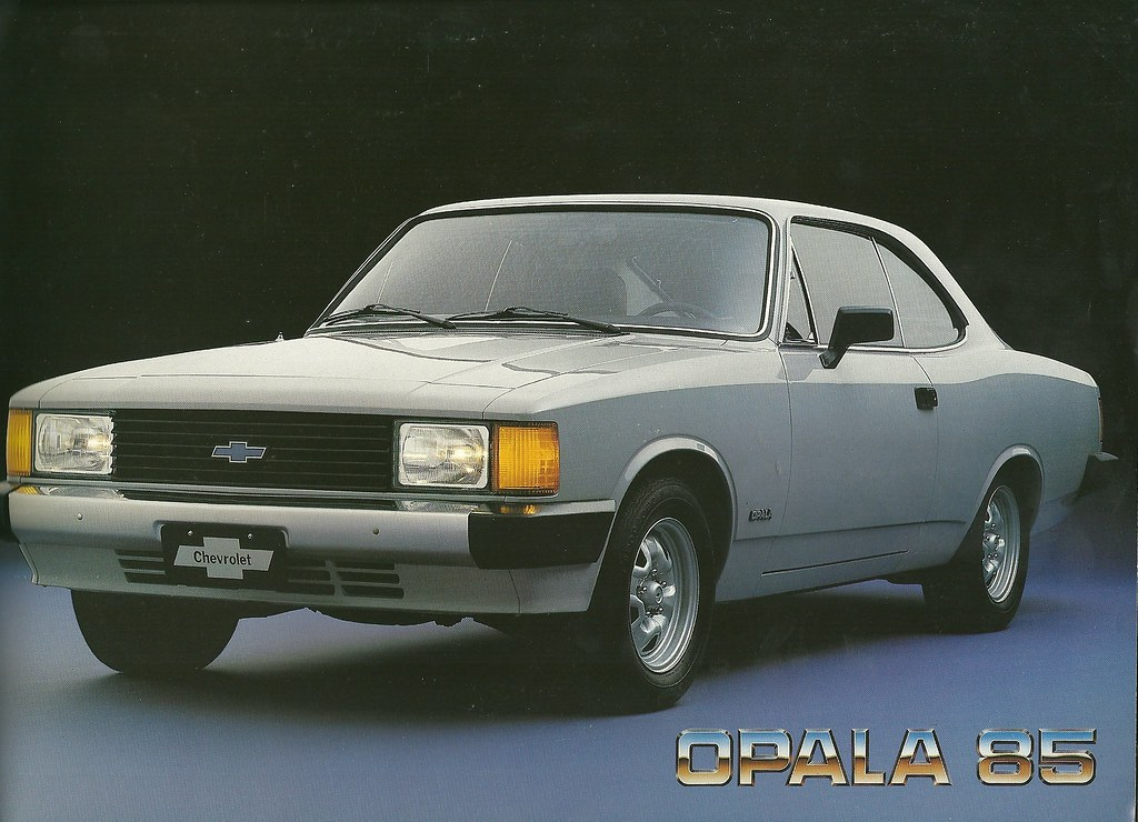 1985 Chevrolet Opala Coupe More Chevrolet Advertising