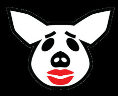 Lipstick On a Pig Icon | by murdocke23
