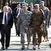 Secretary of Defense Robert M. Gates at Camp Eggers in Kabul, Afghanistan