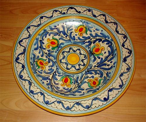 Piatto in ceramica prod santo stefano di camastra flickr - Santo stefano di camastra piastrelle ...