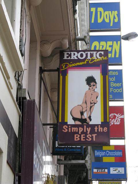 Erotic discount center idea has