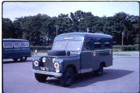 inverness yge 72 land rover series11 ambulance this. Black Bedroom Furniture Sets. Home Design Ideas
