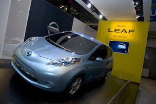 Nissan Leaf | by Dave Pinter