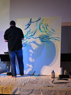 Easter 2010 Live Painting | by harchangel