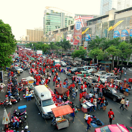 Red Shirt Army Bangkok Thaiand | by Nate Robert