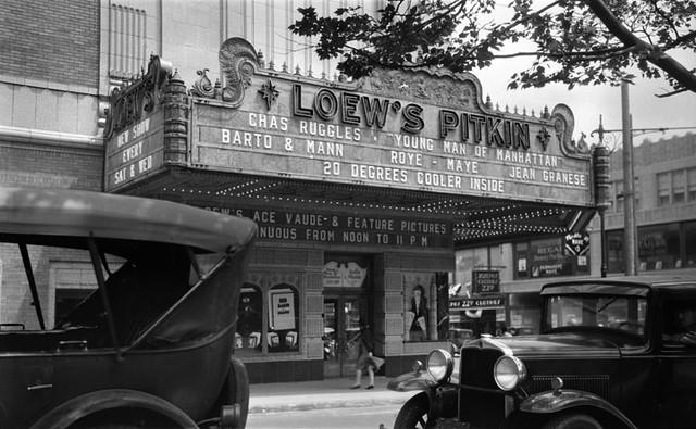 Loew S Pitkin Theatre Brooklyn Ny 1930 Side Street