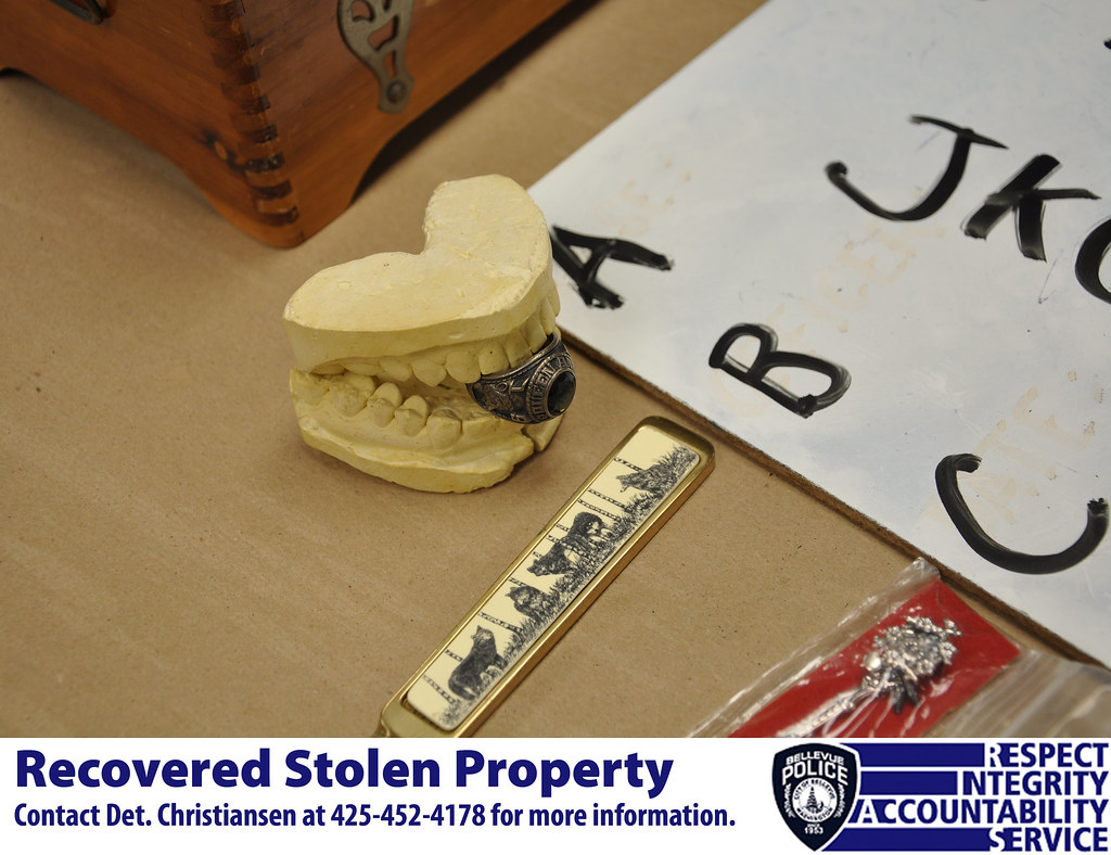 how to get stolen property back from police