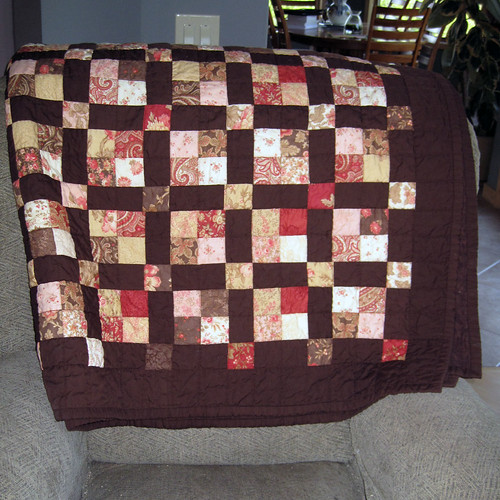 Moda Jelly Roll quilt | by SewKnitGrow
