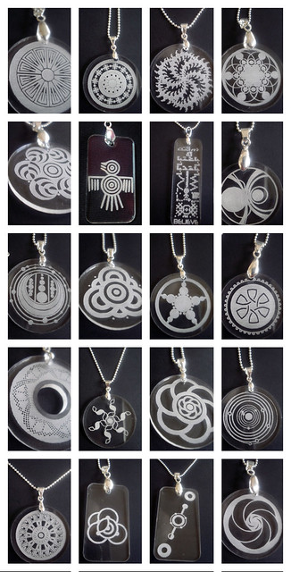 Crop circle pendants my new line of pendants look at th flickr crop circle pendants by diana gc aloadofball Image collections