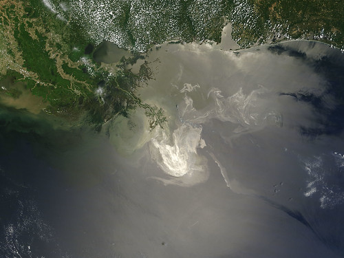 Oil Slick in the Gulf of Mexico May 24th View | by NASA Goddard Photo and Video