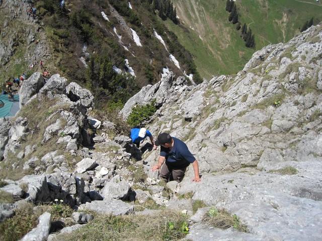 Klettersteig Tegernsee : Tour zur tegernseer hütte roß und buchstein tourenbu flickr