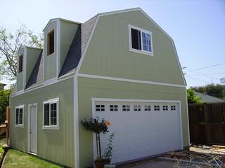 Barn garage build this custom barn garage build shown for 24x24 garage apartment plans