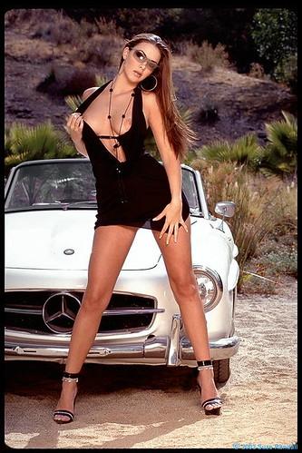 Mercedes 190 Sl Sexy Girl2 Www Carsappeal Com 550