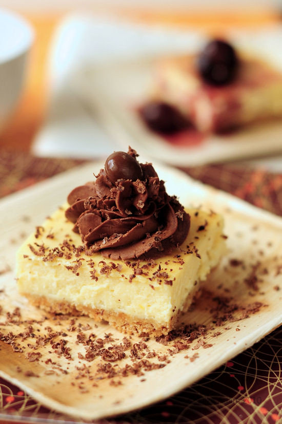Zabaglione cheesecake | with truffle fudge frosting, chocola ...