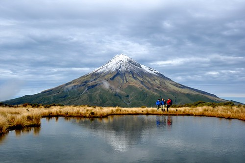 Mount Taranaki and a group of posers | by Iqon DK
