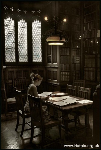 Reader In The John Rylands Library, Manchester UK | by @HotpixUK -Add Me On Ipernity 500px