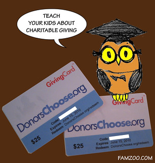 Donors Choose Giving Cards | by FamZoo