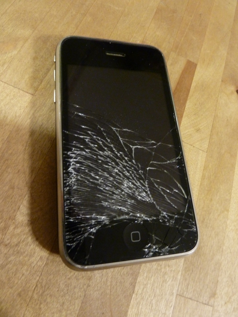 Dropped My Iphone  In Water