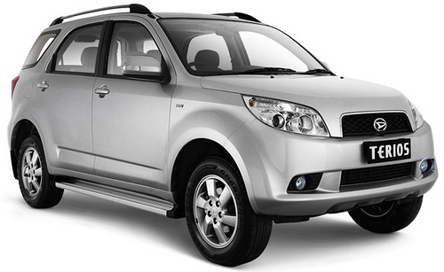 Daihatsu Terios Bego Toyota Rent A Car Toyota Rent A