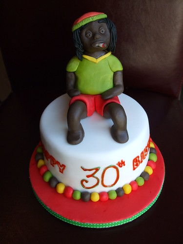 Rastafarian Cake Another One Of My 6 Quot Mini Cakes I Was