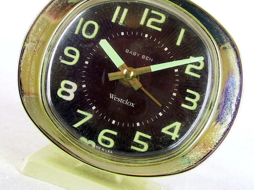 Westclox Baby Ben Vintage Alarm Clock This Sweet Wind