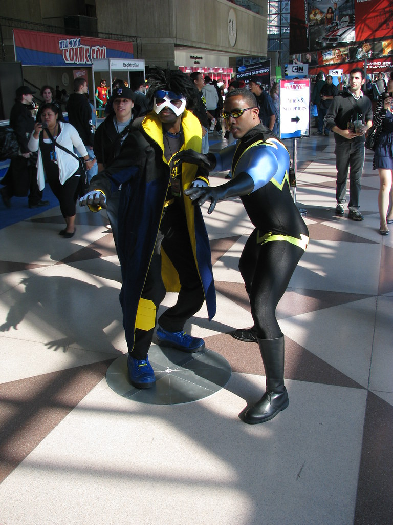 static shock and black lightning snakeeyesllc flickr