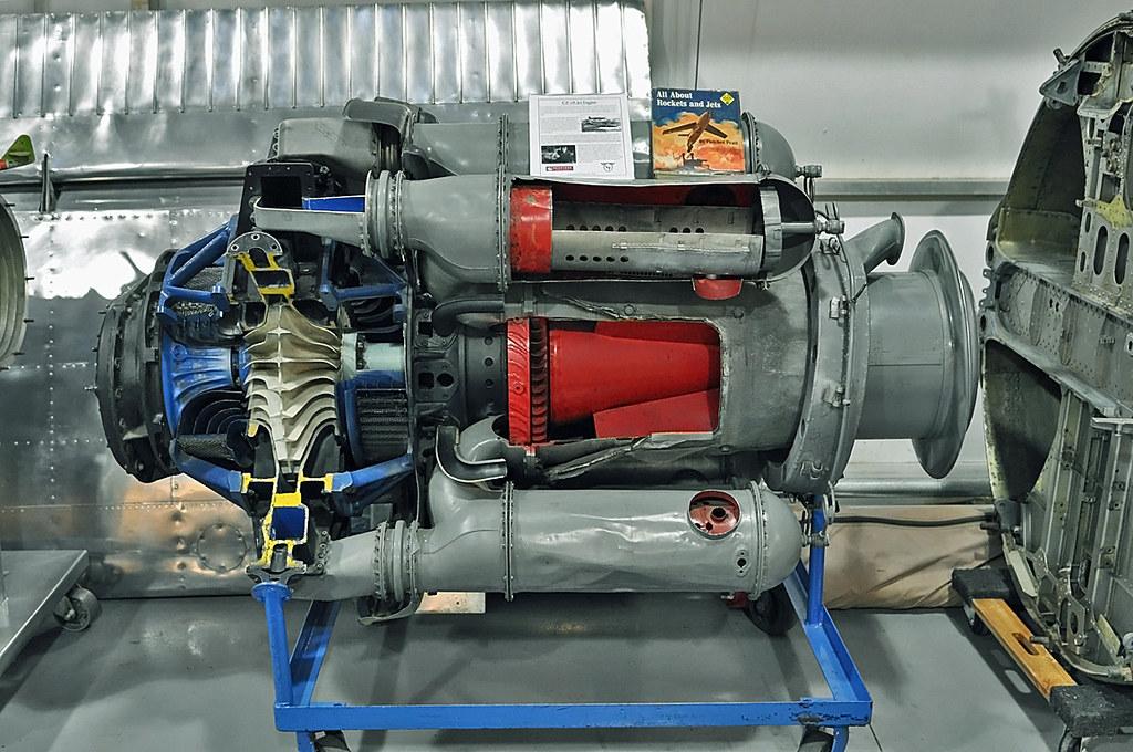 Centrifugal Jet Engine : Ge a jet engine general electric centrifugal flow