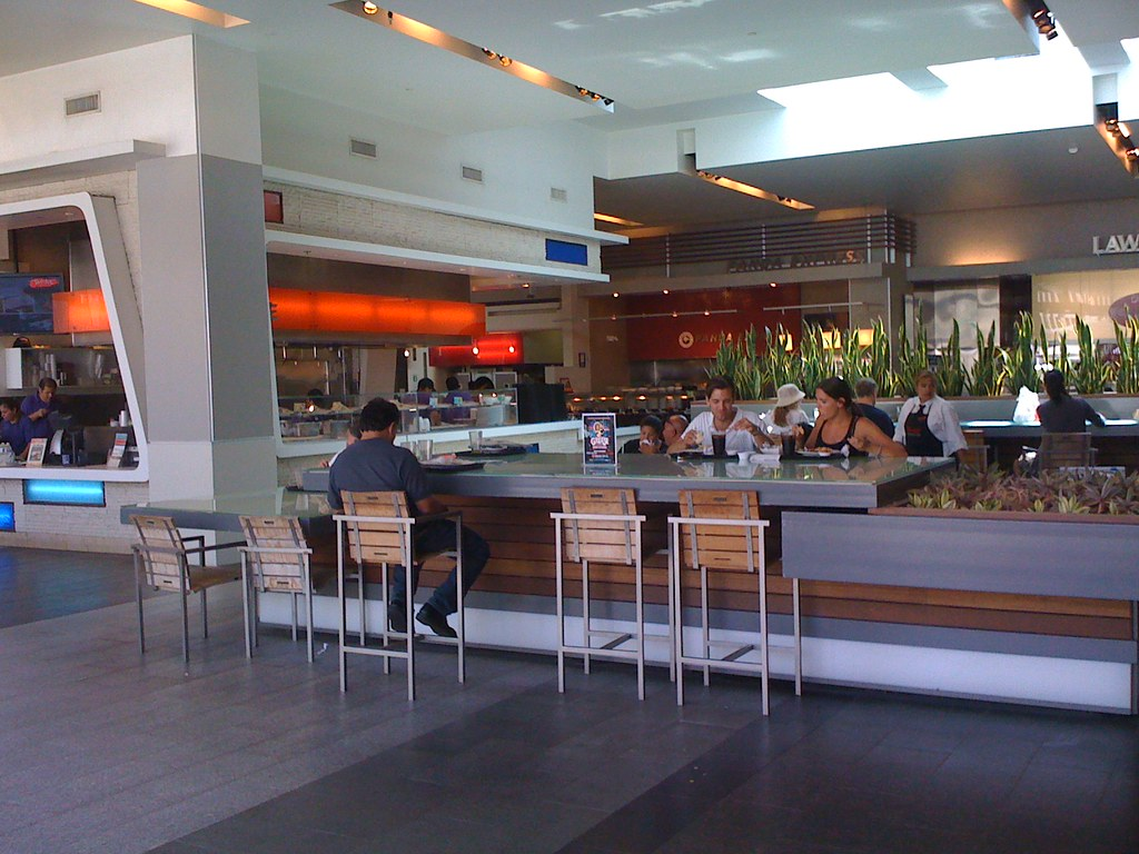 Century City Westfield Mall Food Court
