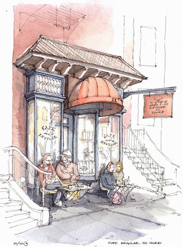 Cafe Regular du Nord | by James Anzalone