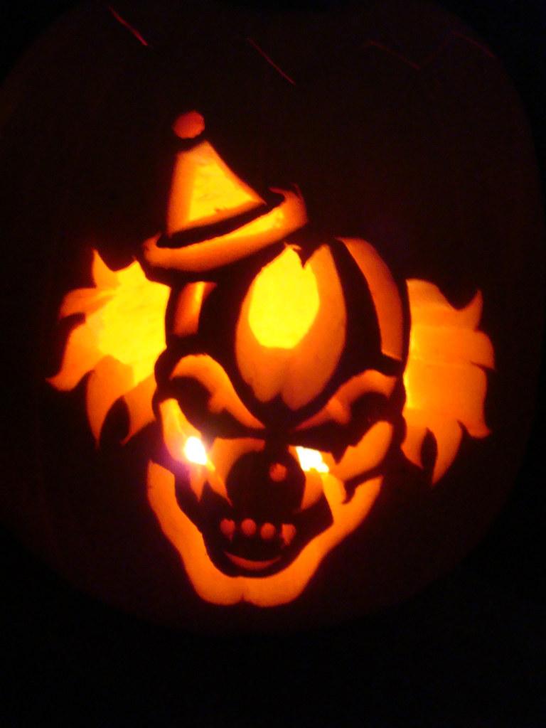 Clown Pumpkin Carving Patterns Cool Decorating Ideas
