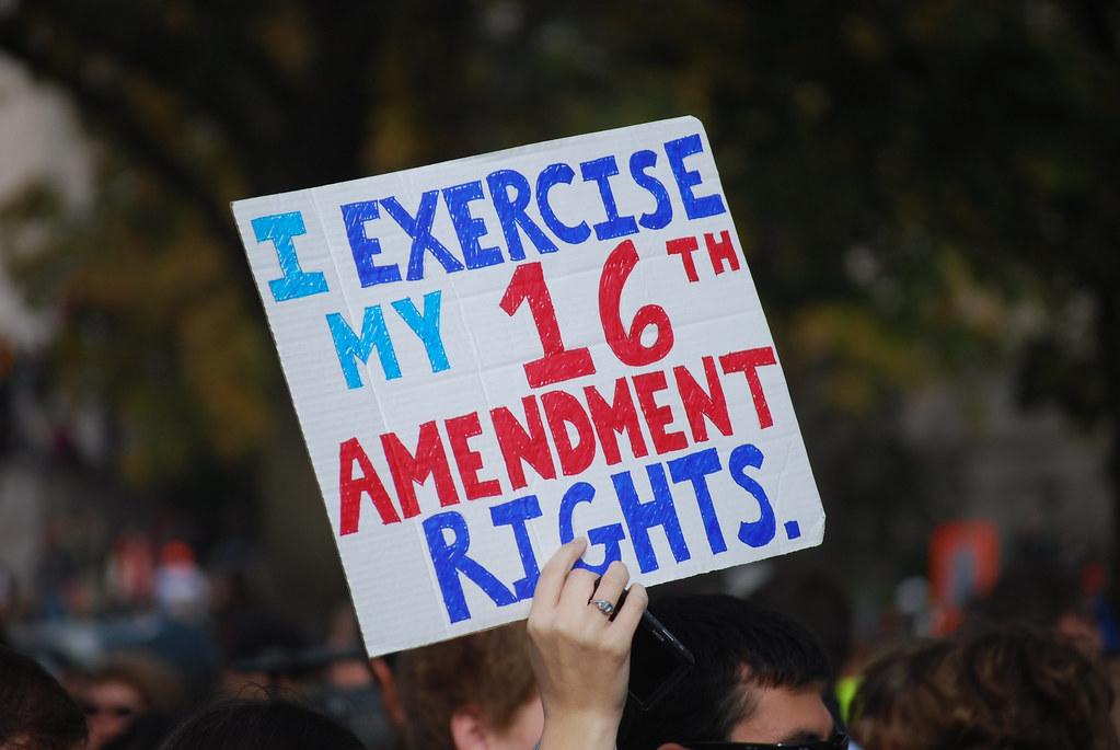 16th Amendment i Exercise my 16th Amendment