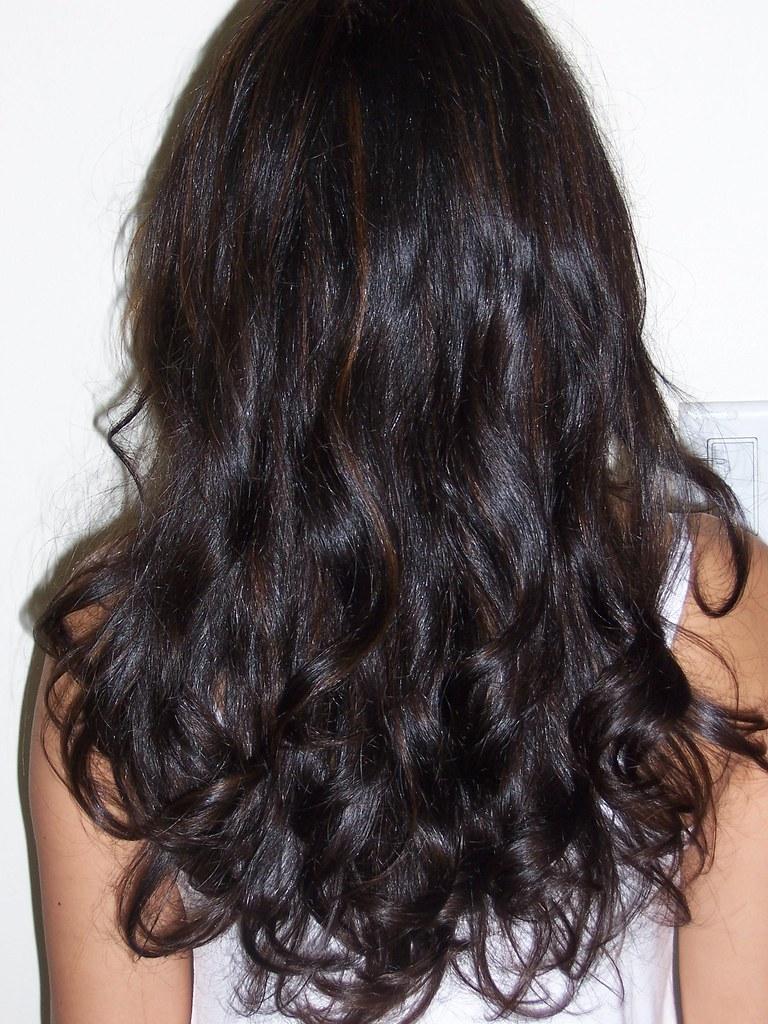 Natural Looking Highlights On Michelles Dark Hair Flickr