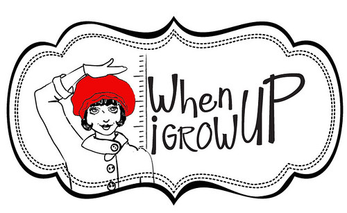 when i grow up logo red | by TotToppers