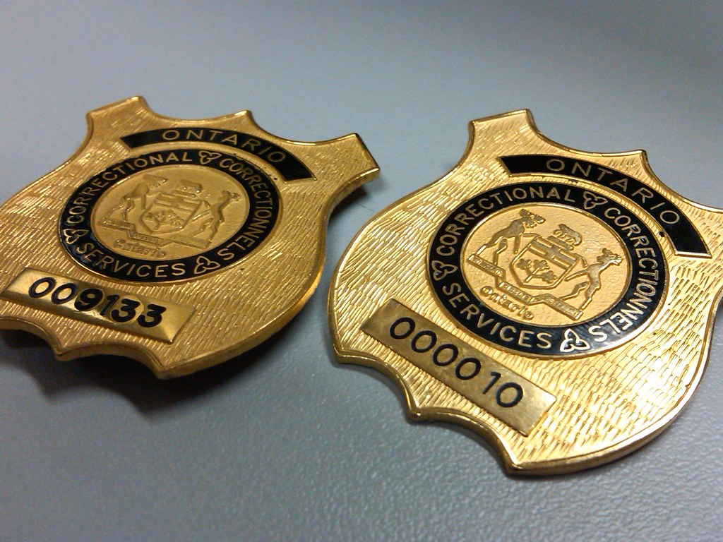 Charmant ... Ontario Correctional Officer Badges | By Achilles.constantine
