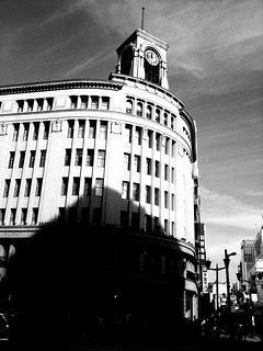 Symbolic building of Ginza | by parallel of latitude