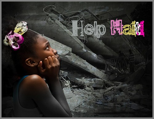 Help Haiti get better - poster - AID | by Explore beautiful Digital art / Graphics
