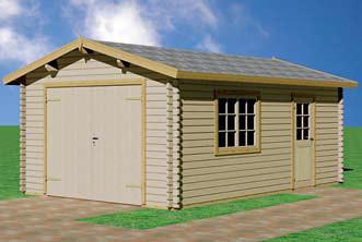Casetas de jardin gama actual garaje pardo de la gama ac flickr - Maderas aguirre ...