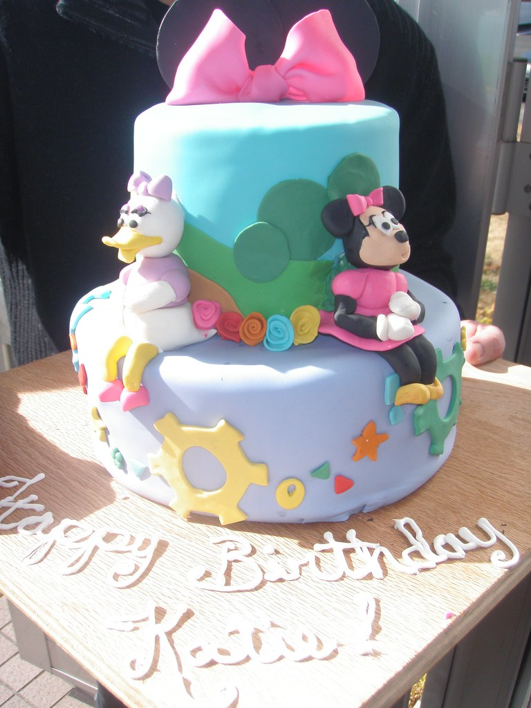 Daisy Duck And Minnie Mouse Disney Cake Brookwhisler Flickr