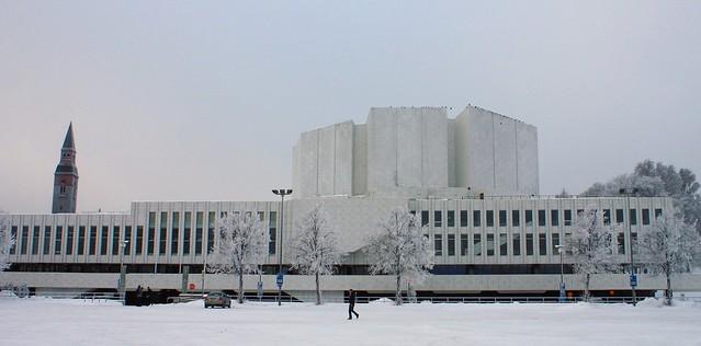 finlandia hall: