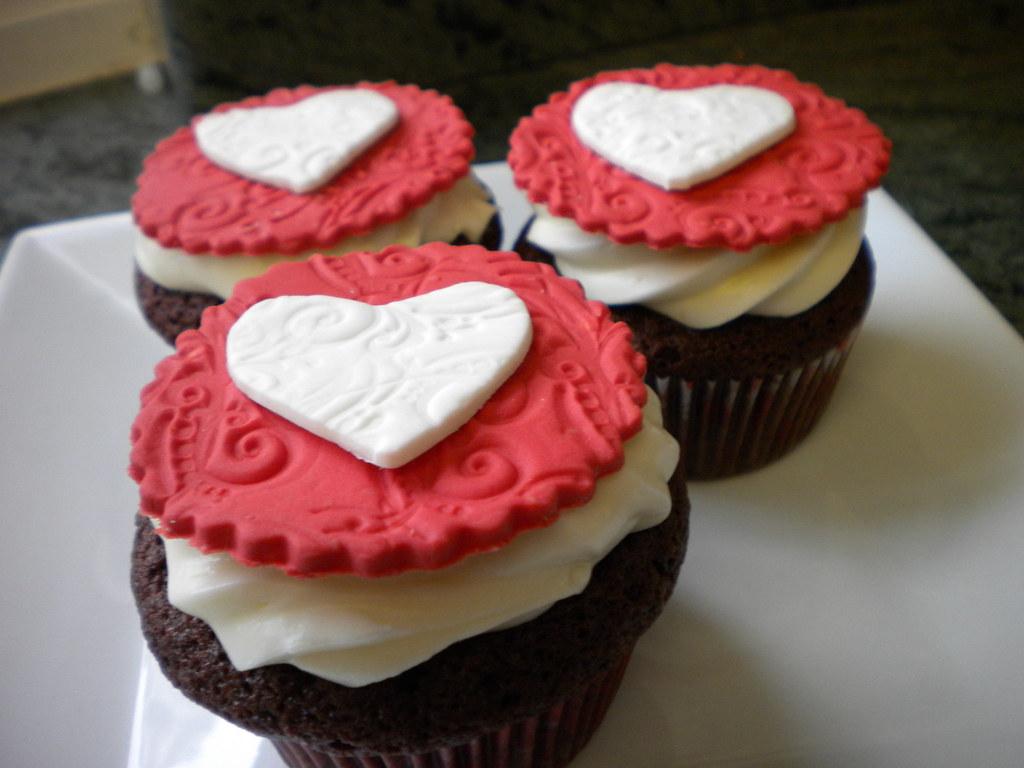 Valentine Cupcake Decorations