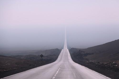 Pan American Highway Moquegua Desert Peru Regi 211 N De